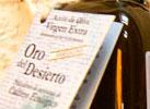 Aceite de oliva virgen extra 'oro del desierto'