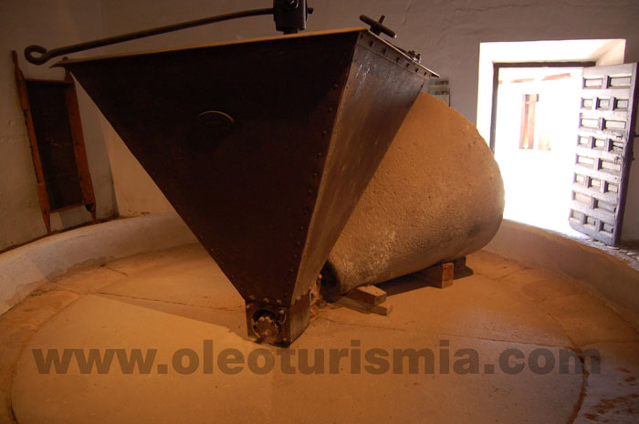 Una almazara en el Museo Casa de Dulcinea (El Toboso)