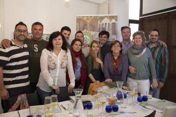 Curso Sumiller del Aceite de Oliva Virgen Extra.  Escuela Europea de cata de aceite. 11
