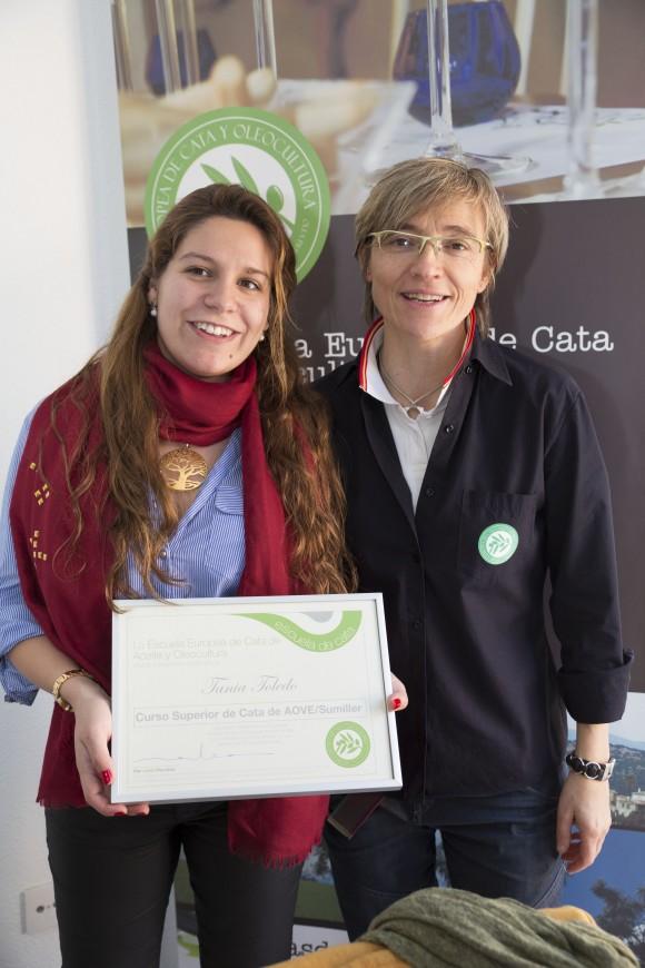 Curso Sumiller del Aceite de Oliva Virgen Extra.  Escuela Europea de cata de aceite. 4