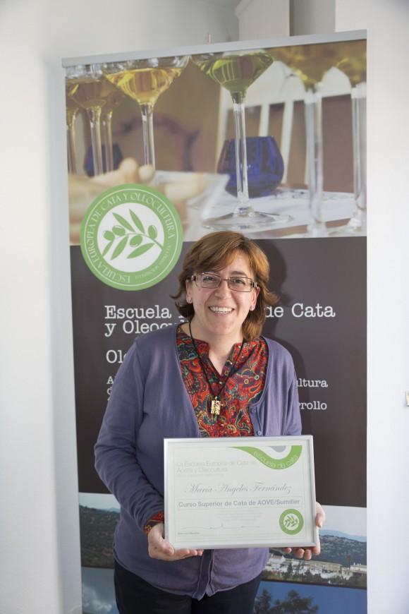 Curso Sumiller del Aceite de Oliva Virgen Extra.  Escuela Europea de cata de aceite. 5