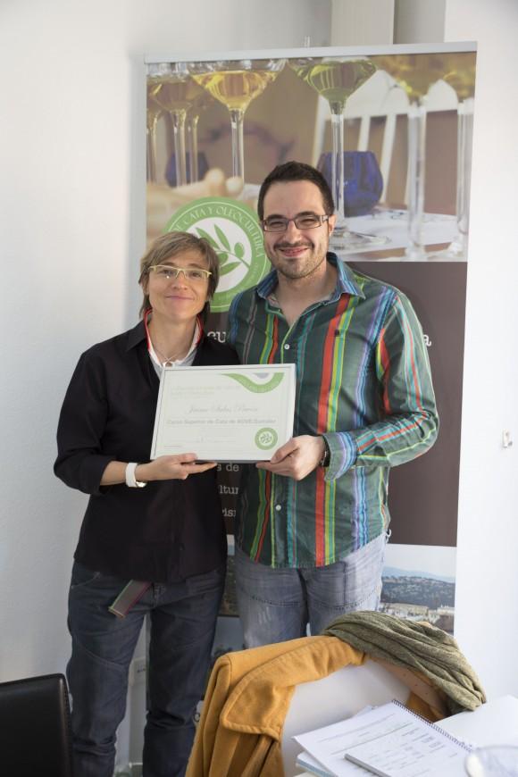 Curso Sumiller del Aceite de Oliva Virgen Extra.  Escuela Europea de cata de aceite. 7