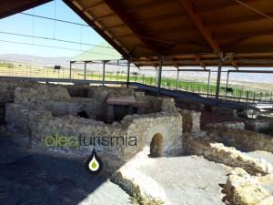 Parte del interior de la Villa dedicada como residencia donde contaba con unos baños excepcionales