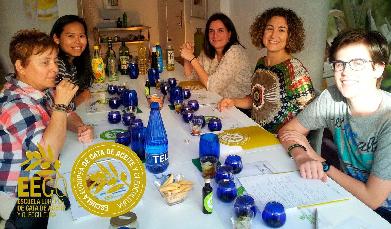 Curso de Iniciación a la Cata del Aceite de Oliva Virgen extra + tapa maridaje