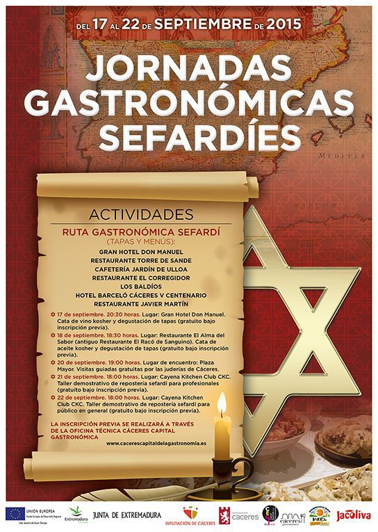 Jornadas Gastronómicas Sefardíes de Cáceres