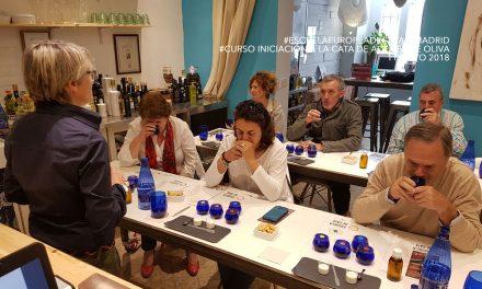 Nivel 2 de 4 Cata del Aceite de Oliva Virgen Extra