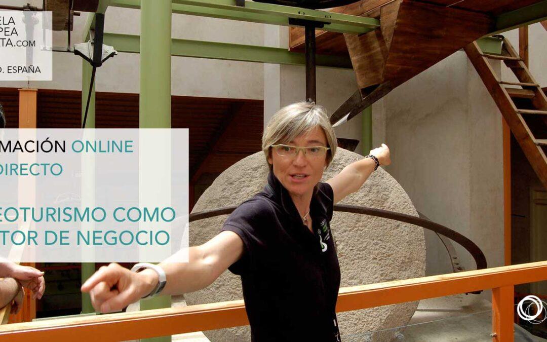 Oleoturismo como motor de negocio. Online en directo: Martes 1 de Junio 2021 de 16 a 18.30