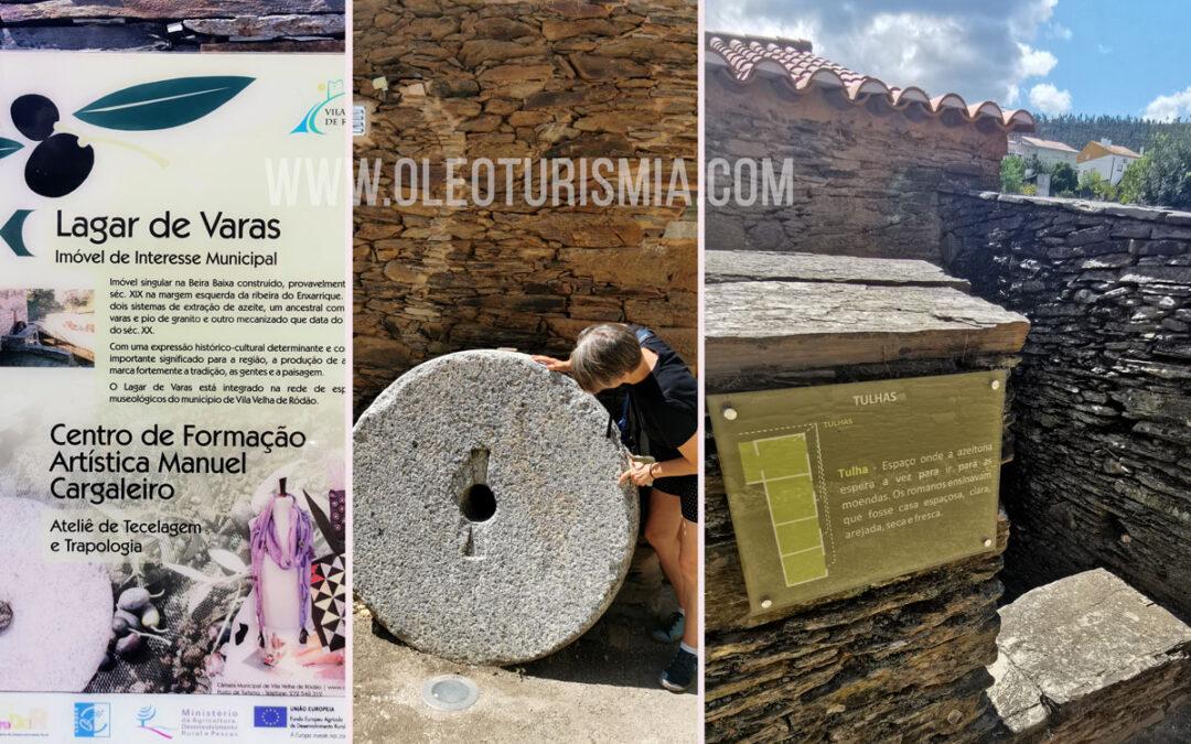 Oleoturismo en Portugal: Lagar de Varas